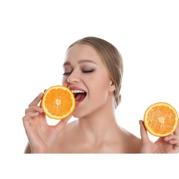 Narancsos szájápoló krém tégelyben