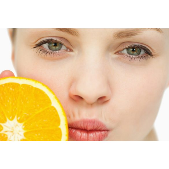 Narancsos szájápoló krém adagolóval