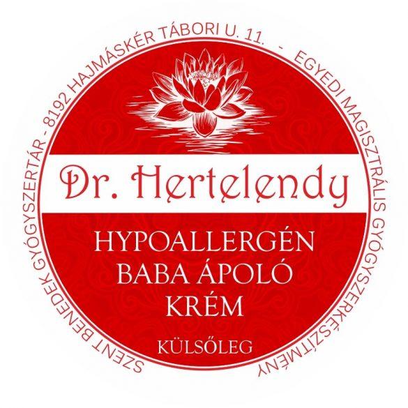 Hypoallergén babaápoló krém borsmentás - NAGY KISZERELÉS