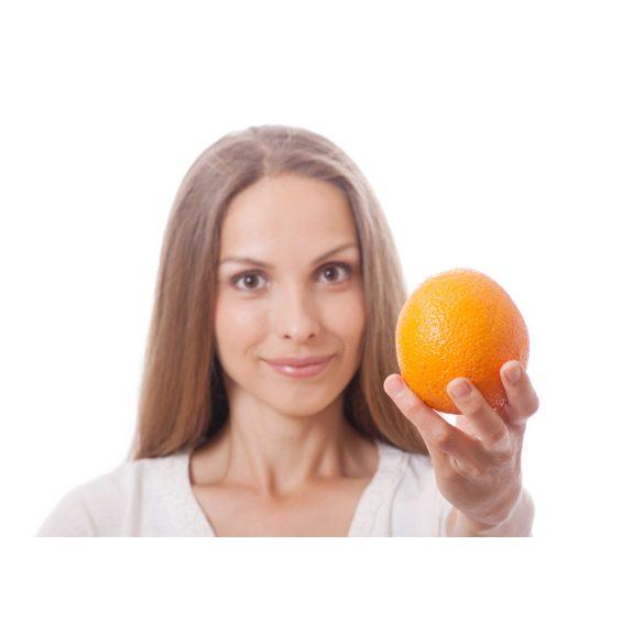 Dolgos kezek krém narancsos