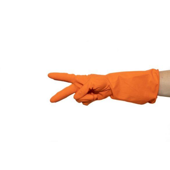 Női kesztyű krém narancsos CSALÁDI KISZERELÉS