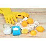Kesztyű krém citromos